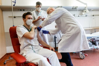 Corona: Sachsen hinkt beim Impfen hinterher
