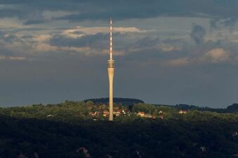 Der Turm, der Dresden bewegt