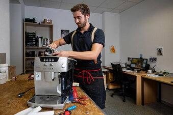 Kreischaer macht Kaffeeautomaten flott