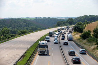 A4: Autofahrer brauchen weiter Geduld