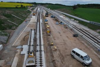 Neues Info-Zentrum zur neuen Supertrasse Dresden - Prag