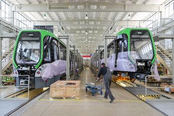 Leipziger Straßenbahnbauer wächst kräftig