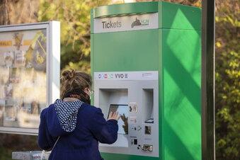 VVO: Tickets am Automaten kaufen