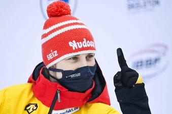 Die Skeleton-Weltmeisterin ist in Altenberg ein Sonderfall