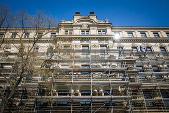 Baustart am Neustädter Palaisplatz