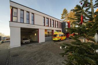 Neue Rettungswache Radebeul in Betrieb