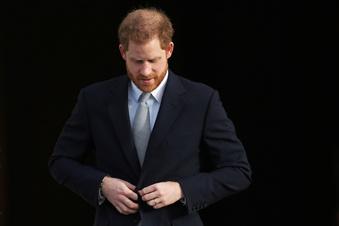 Prinz Harry ist wieder in den USA