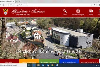 Glashütte wertet Homepage auf