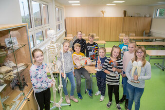 Neue Fachkabinette für Kodersdorfer Schüler