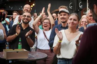 Sachsen-Grüne jubeln über historisches Ergebnis
