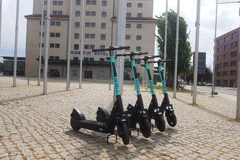 Corona in Dresden: Die E-Roller sind zurück