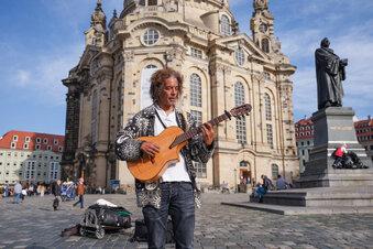Streit um Dresdner Straßenmusiker
