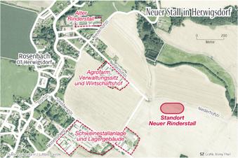 Streit um Kuhstall in Herwigsdorf