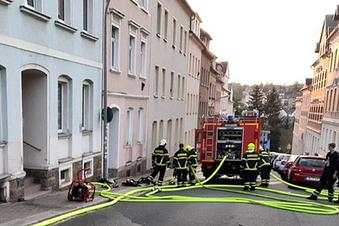 Waldheim: Kellerbrand im Mehrfamilienhaus