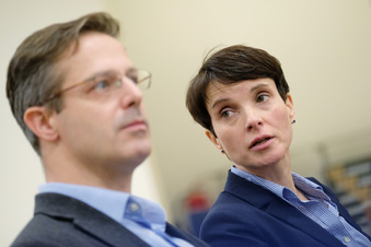 Frauke Petry wegen Betrugs vor Gericht