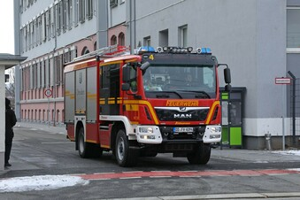 Ermittlungen nach Brand in Dresdner Asylheim