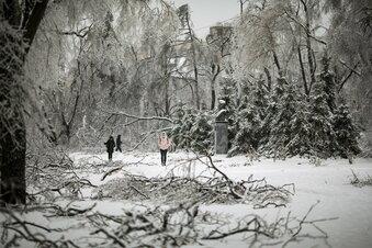 Eissturm: Tausende Russen ohne Strom