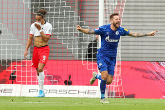RB Leipzig wird von Schalke überrumpelt