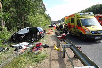Tödlicher Unfall auf A13 - Ursache noch unklar