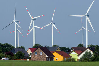 Windräder in Sachsen brauchen 1.000 Meter Abstand