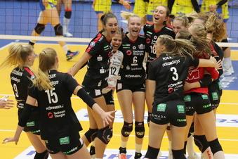 DSC-Volleyballerinnen gewinnen den Supercup