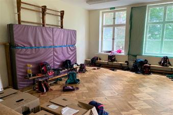 Pirna: Sportunterricht im Klassenzimmer