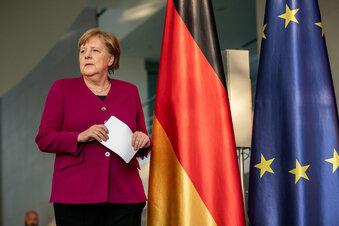 Merkels dünnes Eis