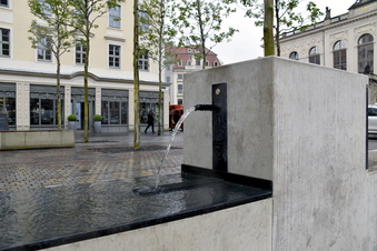 Neuer Trinkwasserbrunnen in Dresden
