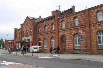 Weißwassers Bahnhof soll neues Gesicht der Stadt werden