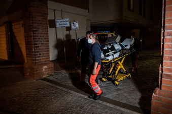 Vier Heimbewohner in Potsdam getötet