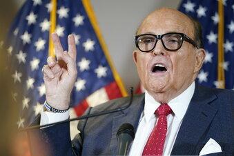Rudy Giuliani positiv auf Corona getestet