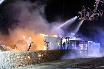 Sportplatz nach Brand auch gesperrt