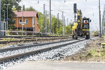 Bahnbau sorgt für Ersatzverkehr