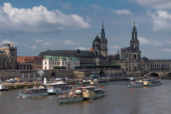 Dresdner Dampfer: Volle Kraft aber kein volles Geschäft