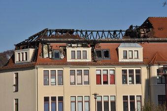 Familien aus Brandhaus müssen umziehen