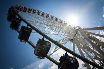 Dresden: Das Super-Riesenrad ist zurück