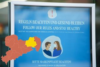 Hier gilt in Sachsen wieder die Maskenpflicht