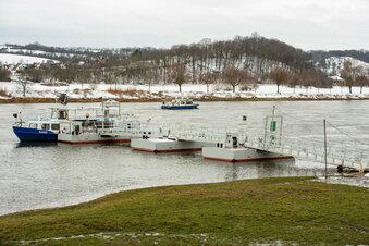Elbe mit der Ruhe vor dem Hochwasser?