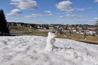 Der letzte Schnee von Altenberg