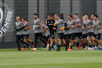 Ein Dynamo-Spieler fehlt im Trainingslager