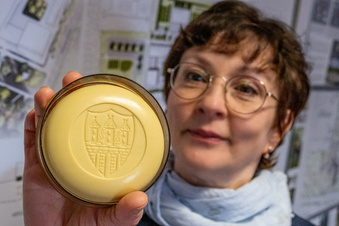 Florena-Seife mit Stadtwappen