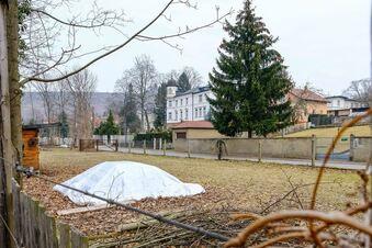 Baubegehren am Lößnitzbach
