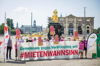Bündnis fordert Mietenstopp in Dresden