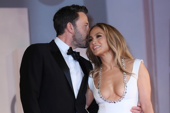 Jennifer Lopez und Ben Affleck voll verliebt in Venedig