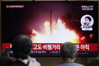 Nordkorea schießt erneut Raketen ab