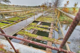 Schafbrücke wird wieder aufgebaut