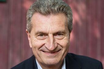 Günther  Oettinger würde sich erschießen, wenn...