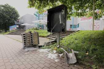 Zigarettenautomat in Dresden gesprengt