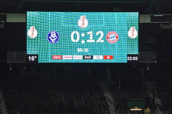 Bayerns B-Elf siegt im Pokal zweistellig