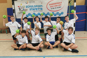 Bundes-Bronze für Foucault-Handballer